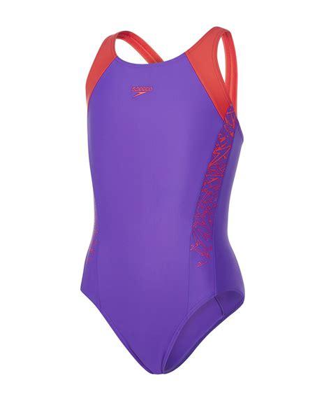 Speedo Junior Muscleback Swimsuit Swimming Costume Swimwear Ages 5-16 New | eBay