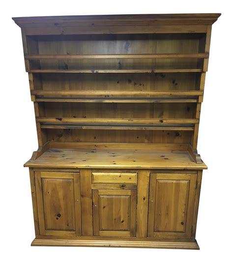 Kitchen Hutch Display by Antique Pine Kitchen Dresser Display Hutch Chairish