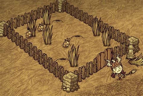 wood flooring don t starve wood gate don t starve game wiki fandom powered by wikia
