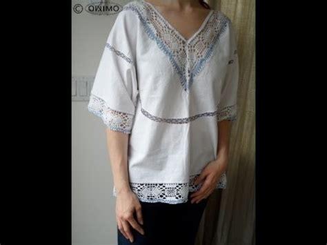 hippie selber machen hippie bluse aus tischtuch selber machen owimo design upcycling