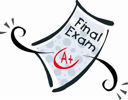 Exam Final Clipart Clip Finale Advertisement