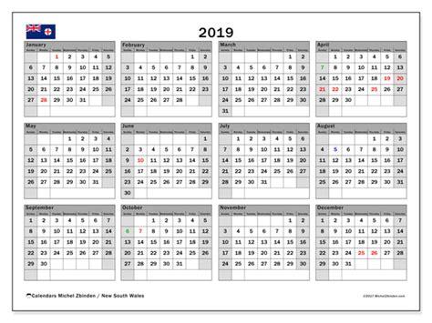 calendar  south wales australia michel zbinden en