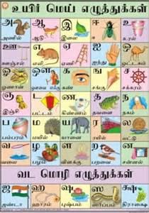 Tamil Alphabet Chart - Manufacturer,Supplier,Exporter