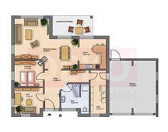 haus mit integrierter garage grundriss die 239 besten bilder grundrisse bungalow home plans architecture und floor plans