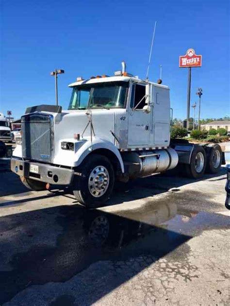 volvo white gmc  sleeper semi trucks