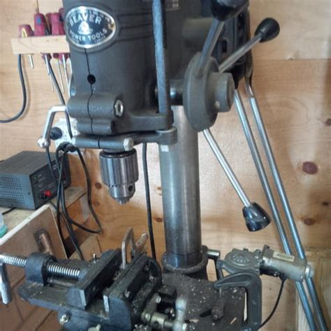 table rising device  drill press canadian woodworking