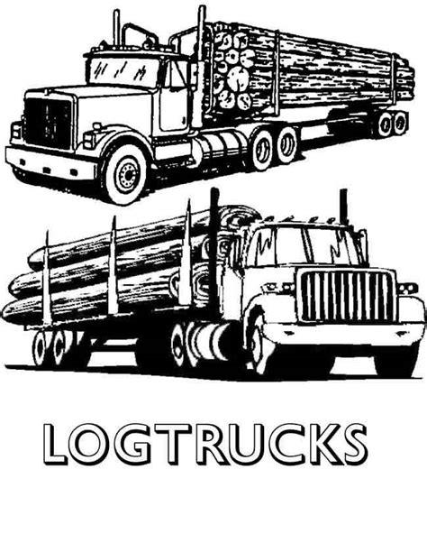 logging truck clipart clipground