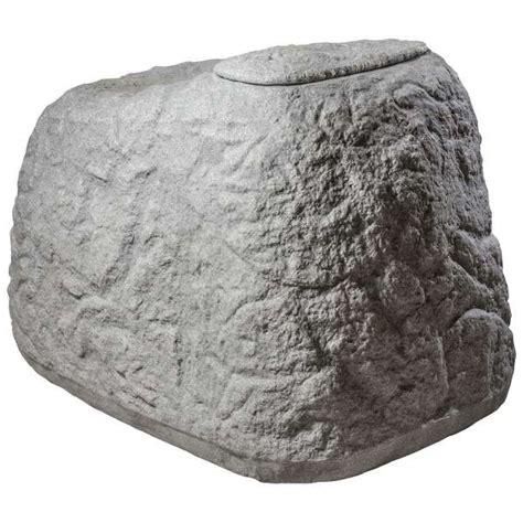 wassertonne   cool regentonne findling granitrot  eur picclick de  wassertonne