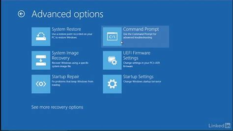 windows recovery environment part