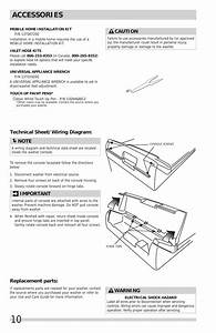Accessories  Replacement Parts  Technical Sheet  Wiring