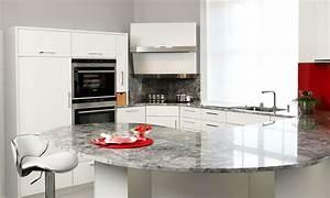 Weiße Arbeitsplatte Küche : k che granitplatte ~ Sanjose-hotels-ca.com Haus und Dekorationen