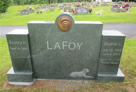 lafoy monument and headstone designs by west memorials