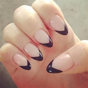Acrylic Nails Round Tip Black | www.pixshark.com - Images ...