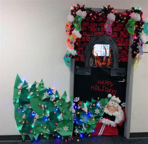 decorations for christmas school door decorating contest winners tags door