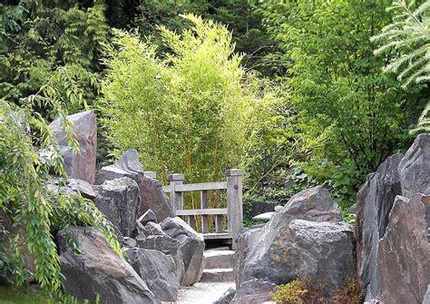 Japanischer Garten Rindenmulch by Filigraner Blickdichter Sichtschutzzaun Aus Bambus