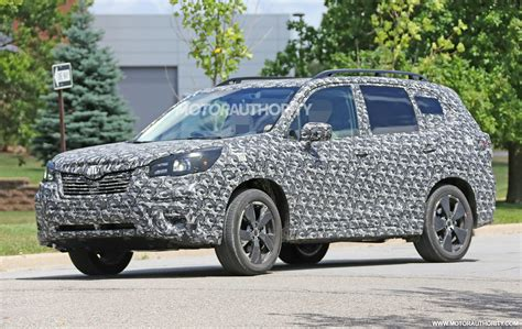 2019 Subaru Forester Redesign, Spied, Engine, Concept