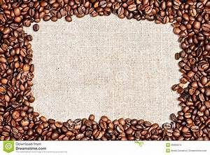 Coffee Bean On Burlap Texture Stock Images - Image: 26990674