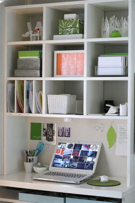 office desk storage ideas desk a day small space saving workspace curbly diy