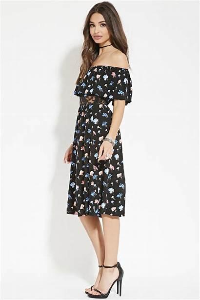 Floral Shoulder Forever Lyst Clothing