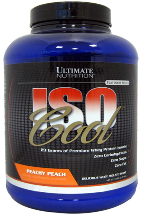 Was Bedeutet Ultimativ by Ultimate Nutrition Isocool Das Whey Protein Isolat F 252 R