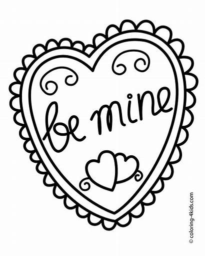 Coloring Basketball Valentine Printable Heart College Team
