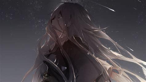 Vocaloid, Ia (vocaloid), Anime Girls, Long Hair, Gray Hair
