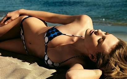 Bikini Beach Desktop Wallpapers Models Beaches Blonde