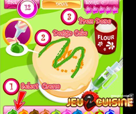 jeux cuisine gateau jeux de cuisine gratuit