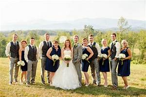 virginia fall wedding in navy wedding dresses tuxes With navy dress for fall wedding