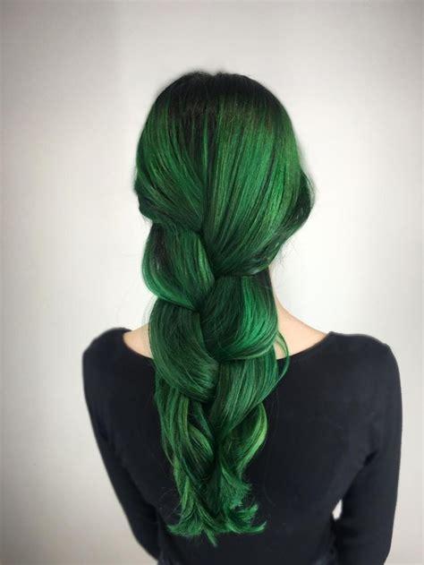 25 Best Ideas About Emerald Green Hair On Pinterest