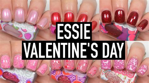 Essie  Valentine's Day  Swatch And Review  Youtube