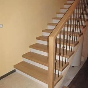 Habillage Escalier Bois : habillage escalier beton en bois decoration d interieur ~ Dode.kayakingforconservation.com Idées de Décoration