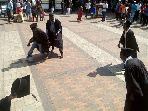 Unemployed graduates protest lack of opportunity in Zimbabwe
