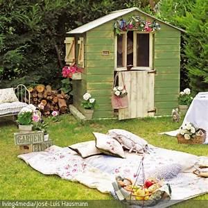 Gartenhaus Gemütlich Einrichten : picknick im eigenen garten gartenhaus pinterest ~ Orissabook.com Haus und Dekorationen