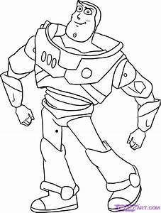 Buzz Lightyear Coloring Pages Getcoloringpagescom