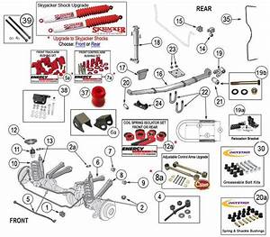 Jeep Cherokee Xj Suspension Parts 1984