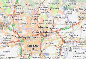 Via Michelin Italie by Mappa Monza Cartina Monza Viamichelin