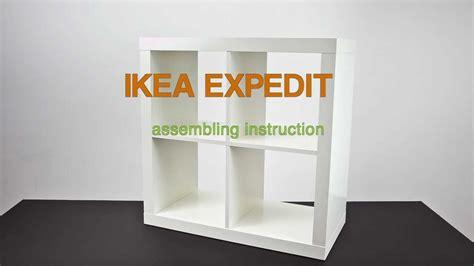 Expedit Ikea Anleitung by Ikea Expedit Assembling Zusammenbau