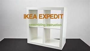 Ikea Tischbeine Höhenverstellbar Anleitung : ikea expedit assembling instruction zusammenbau anleitung youtube ~ Watch28wear.com Haus und Dekorationen