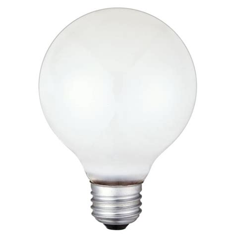 40 watt incandescent bulb westinghouse g25 40 watt medium base incandescent l 3907