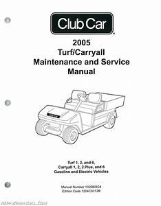 2005 Club Car Turf Carryall Turf 1  2  And 6  Carryall 1