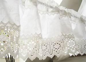 Shabby Chic Gardinen : gardine landhausstil wei shabby chic 105 interior curtains pinterest gardinen ~ Eleganceandgraceweddings.com Haus und Dekorationen