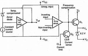 Draw The Functional Block Diagram Of Ic 723 Voltage