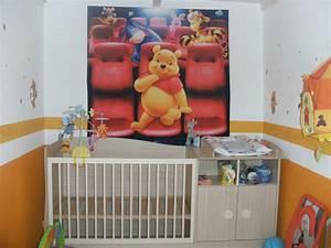 Chambre Bébé Ourson : deco chambre bebe garcon ourson ~ Teatrodelosmanantiales.com Idées de Décoration