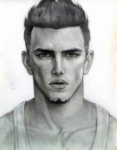 Realistic Man Face Drawing Photos Drawings Of Boys Faces ...
