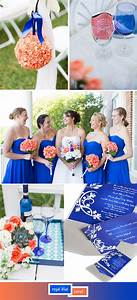 Top 5 perfect shades of blue wedding color ideas for 2017 for Royal blue and coral wedding invitations
