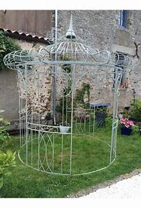 tonnelle fer forge fashion designs With gloriette de jardin en fer forge 11 gloriette bois