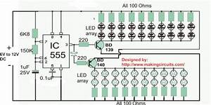 40 Led Bicycle Light Circuit
