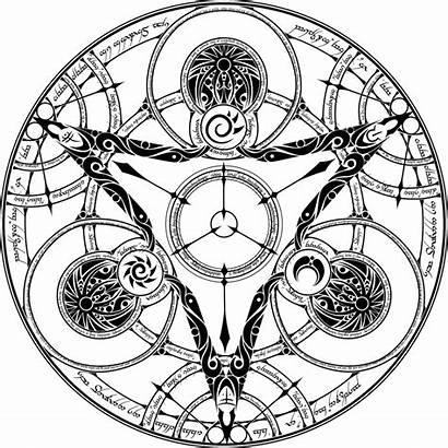 Circle Magic Drawing Getdrawings
