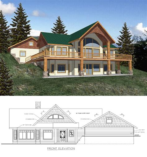 Hillside Home Plans by 50 Best Hillside Home Plans Images On House
